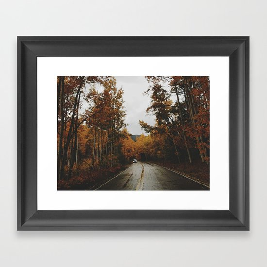 Aspen Framed Art Print