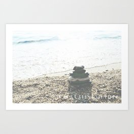 Sea Cures Everything Art Print