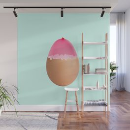 Balloon egg Wall Mural