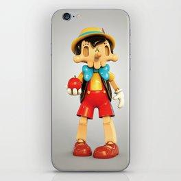 Skull Pinocchio iPhone Skin