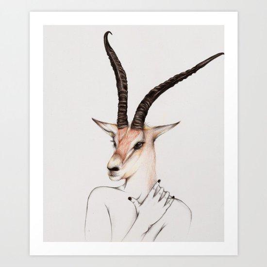 Breed Art Print