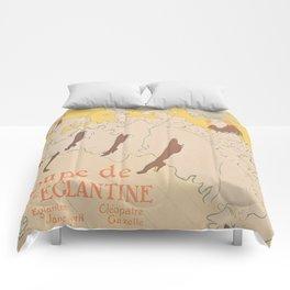 Vintage poster - Troupe de Mlle Eglantine Comforters