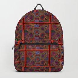 Kuna Mola Pattern Backpack