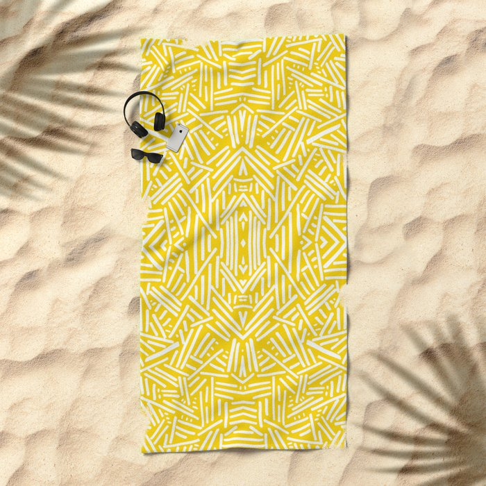 Radiate - Freesia Beach Towel