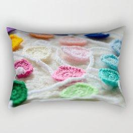 Gathered Hearts Rectangular Pillow