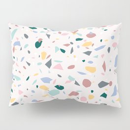 Colorful Terrazzo Pillow Sham