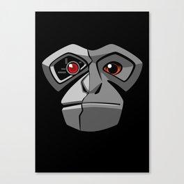 Gibbonator Canvas Print