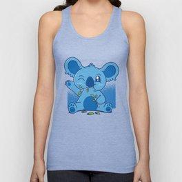 Blue Baby Koala Unisex Tank Top