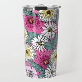 Australian garden pink Travel Mug