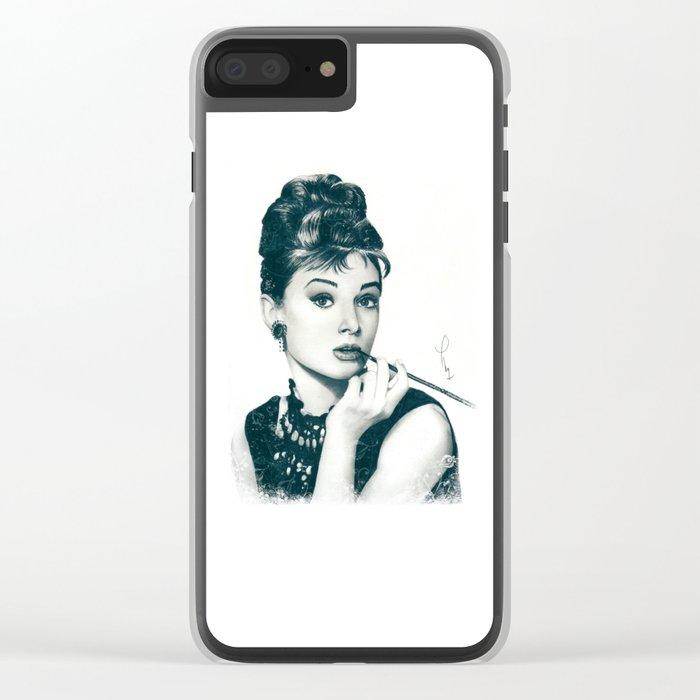 My Hepburn Clear iPhone Case