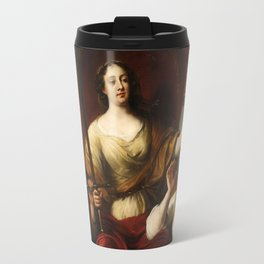 Prudence, Justice, and Peace by Jürgen Ovens, 1662 Travel Mug