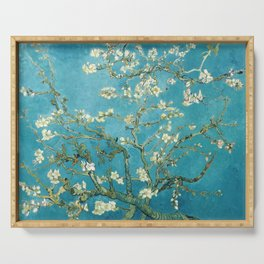 Almond Blossoms by Vincent van Gogh Serving Tray