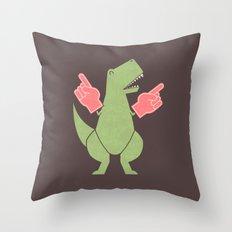 Yay! Big Hands! Throw Pillow