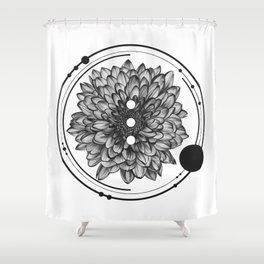 Elliptical I Shower Curtain