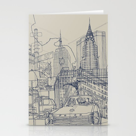 New York! Stationery Cards