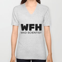 WFH, Working From Home Unisex V-Neck