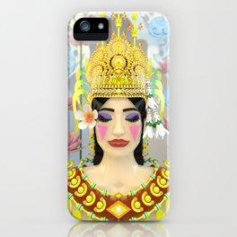 The Meditating Apsara iPhone Case