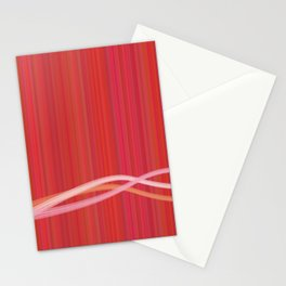 Strawberry Waves Stationery Cards