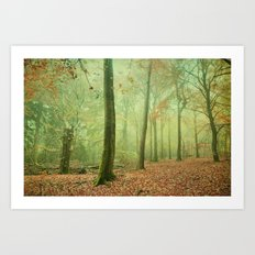 cycles of nature Art Print