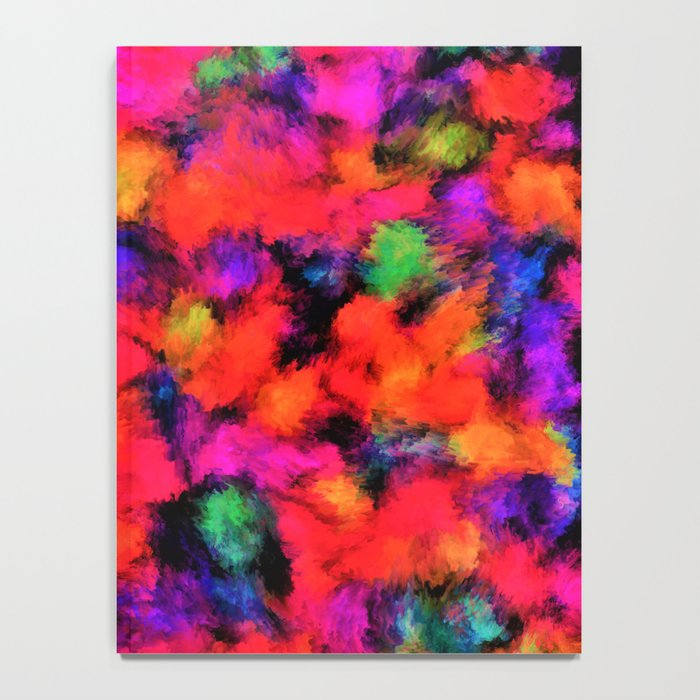 Bright Rainbow Colors Notebook