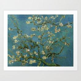 Blossoming Almond Tree Vincent Van Gogh Art Print