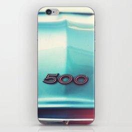 500 iPhone Skin