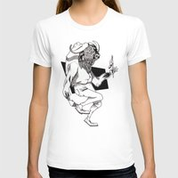 bison T-shirts featuring Bison by Hopler Art
