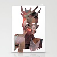 basquiat Stationery Cards featuring Basquiat by Stas Kravets (tomorrowfriday)