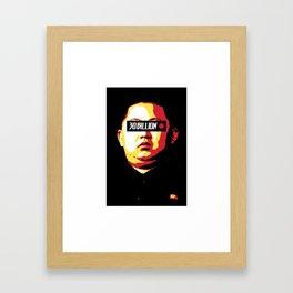 30Billion - Censored Dictator 02 Framed Art Print