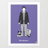 Tim (Cameo One Shot) Art Print