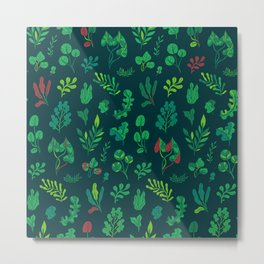 Botanical plants Metal Print