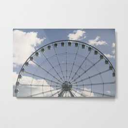 Ferris Wheel 01 Metal Print