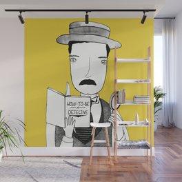 Sherlock Jr. Wall Mural