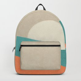 Simple Sun Horizon Backpack