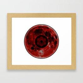Infinite Tsukuyomi Moon from Naruto Shippuden Framed Art Print
