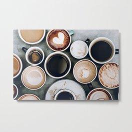 But First, Coffee II Metal Print