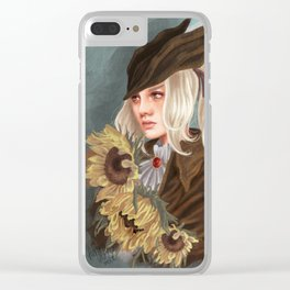 Lady Maria Clear iPhone Case