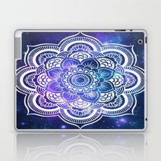 Mandala: Violet & Teal Galaxy Laptop & iPad Skin