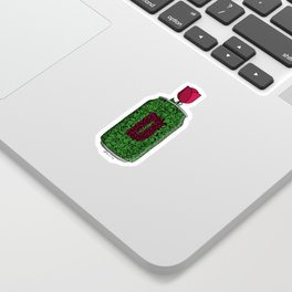 Chicago Rose Sticker