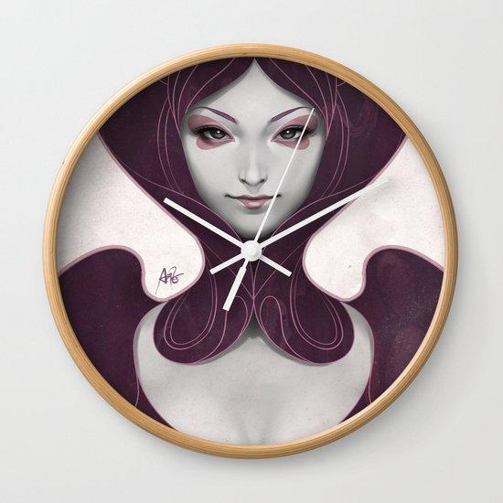 Pepper Heart Wall Clock
