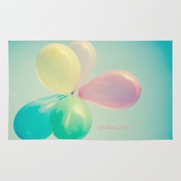Balloon Love  Rug