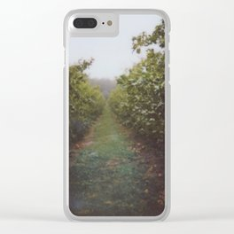 Orchard Row Clear iPhone Case