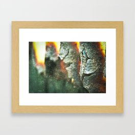 Time goes on... Framed Art Print