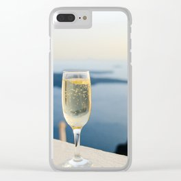 champagne Clear iPhone Case