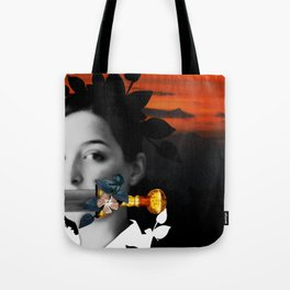 Word Power Tote Bag