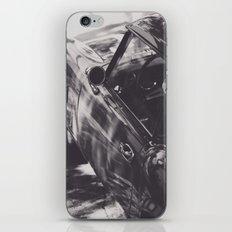 Fine art print, classic car, triumph, spitfire, b&w photo, still life, interior design, old car iPhone & iPod Skin
