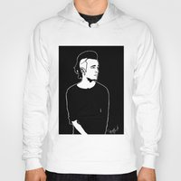 matty healy Hoodies featuring Matty. by Spazy Art