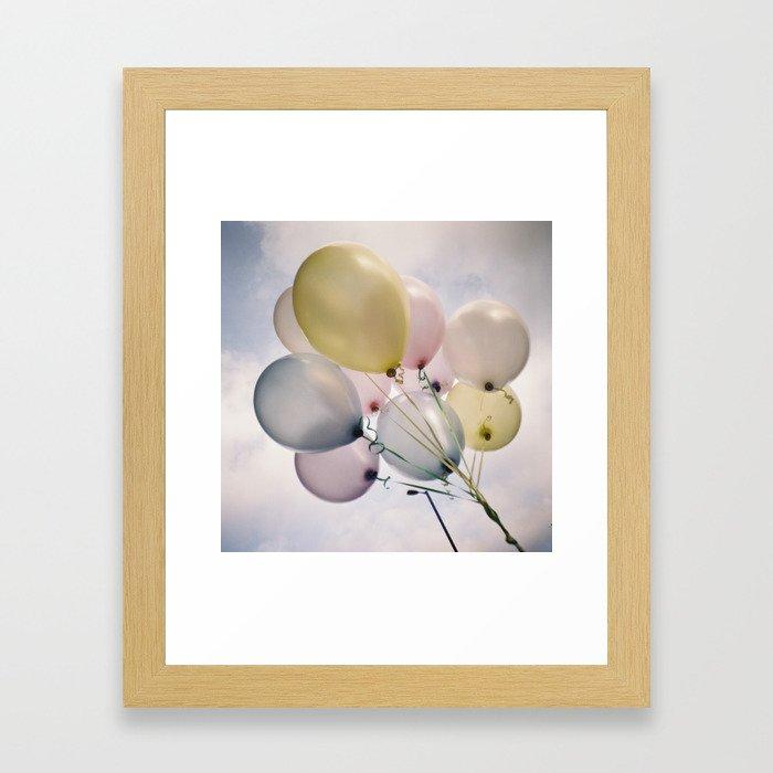 balloons! Framed Art Print