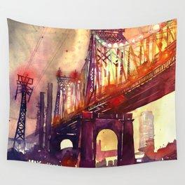 Queensboro Bridge Wall Tapestry