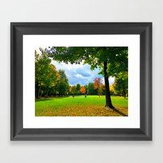 Greenfields Framed Art Print